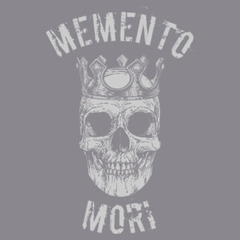 Memento Mori Mens Super Soft Tri Blend Design