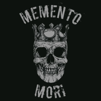 Memento Mori Unisex Super Soft Long Sleeve Cotton Crew Design