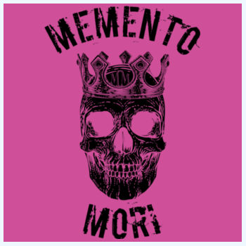 Memento Mori Plush Throw Design