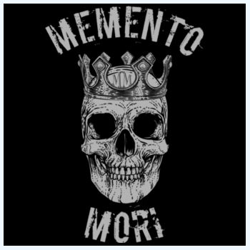 Memento Mori Plush Throw 2 Design